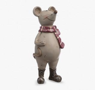 Статуэтка Мышонок с шарфиком