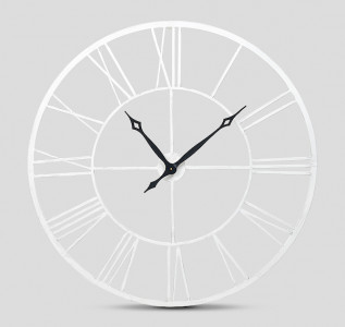 Часы настенные металлические White Loft