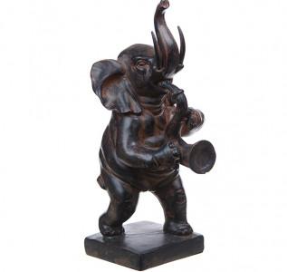 Статуэтка Слоник с саксофоном