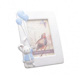 Фоторамка Кролик с воздушными шариками