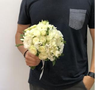 Букет невесты Хлопья нежности твоей