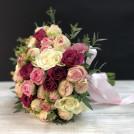 Букет невесты Счастливый румянец