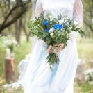 Букет невесты Лазурная улыбка