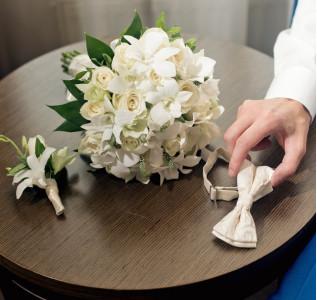 Букет невесты Первая бабочка