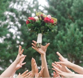 Букет невесты Неукротимая энергия
