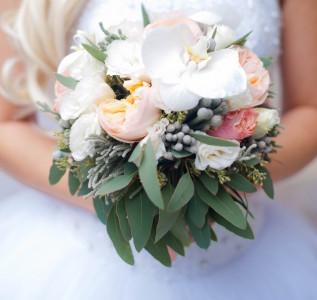 Букет невесты Весенний ветер