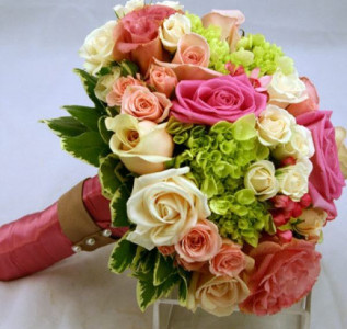 Букет невесты Счастье быть рядом