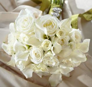 Букет невесты Белые росы