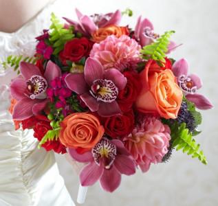 Букет невесты Яркое воспоминание
