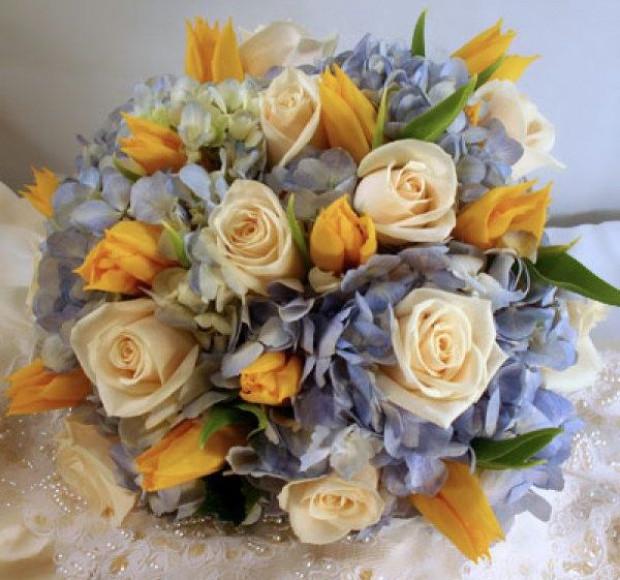 Букет невесты Гармония красок