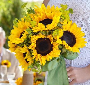 Букет невесты Солнечный день