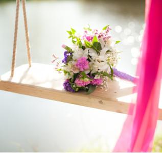 Букет невесты Солнечные чувства