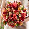 Яркие букеты невесты