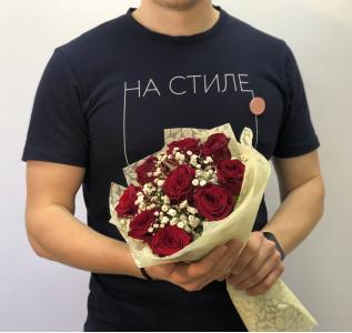 Букет Предложение руки с розами