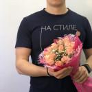 Букет Предложение руки в розовом