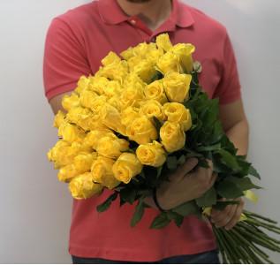 Букет Роза желтая 51