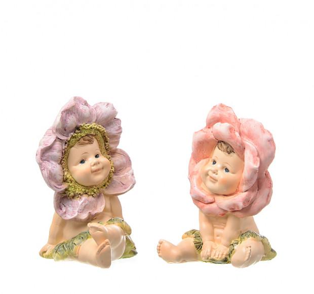 Статуэтка Дети Цветочного солнца (2 шт)