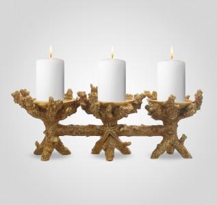 Подсвечник на 3 свечи Sea Stars