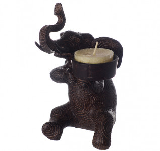 Подсвечник Царский слон
