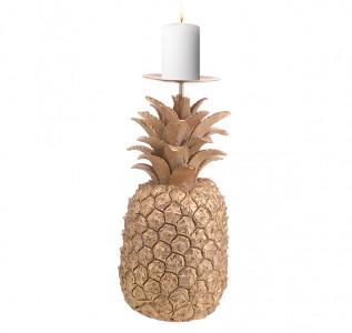 Подсвечник Золотой ананас L
