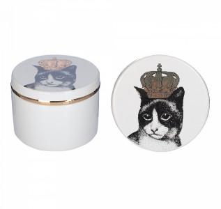 Шкатулка Кошка-царица