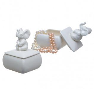 Шкатулка-мини Счастливый слоник
