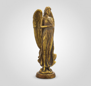Статуэтка Ангел золотистый
