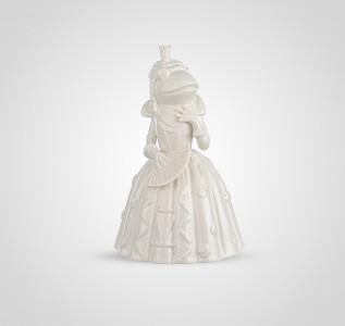 Статуэтка Белая лягушка принцесса