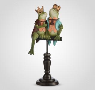 Статуэтка Друзья-лягушата на подставке