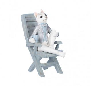 Статуэтка Котенок на стуле