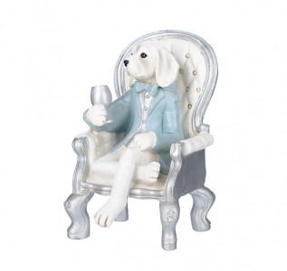 Статуэтка Щенок в кресле