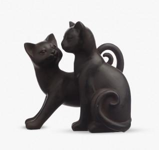 Статуэтка Кошечки влюбленная пара из полистоуна