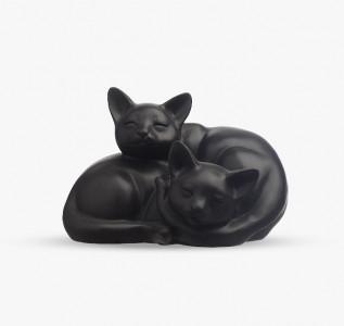 Статуэтка Кошечки спящие из полистоуна
