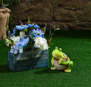 Статуэтка Лягушка-жаб для сада