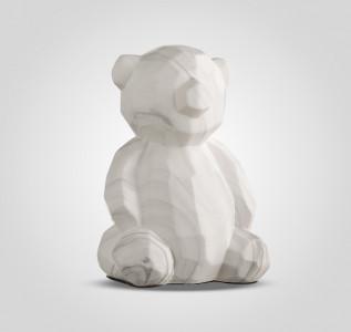Статуэтка Мишка камень керамический в стиле Арт-Деко большой