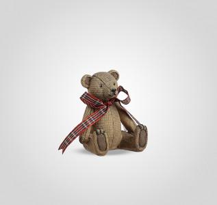Статуэтка Мишка с бантиком винтажный малый