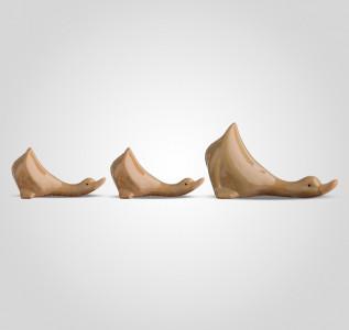Статуэтка Набор из трех керамических гусей