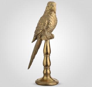 Статуэтка Попугай золотистый 40 см