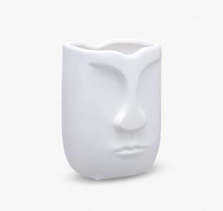 Ваза керамическая Human Face малая