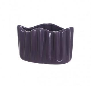 Ваза керамическая кашпо Фиалка