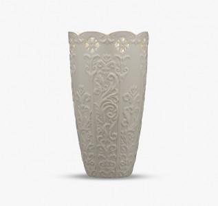 Ваза керамическая Кремовое изящество большая