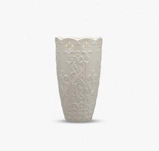 Ваза керамическая Кремовое изящество малая